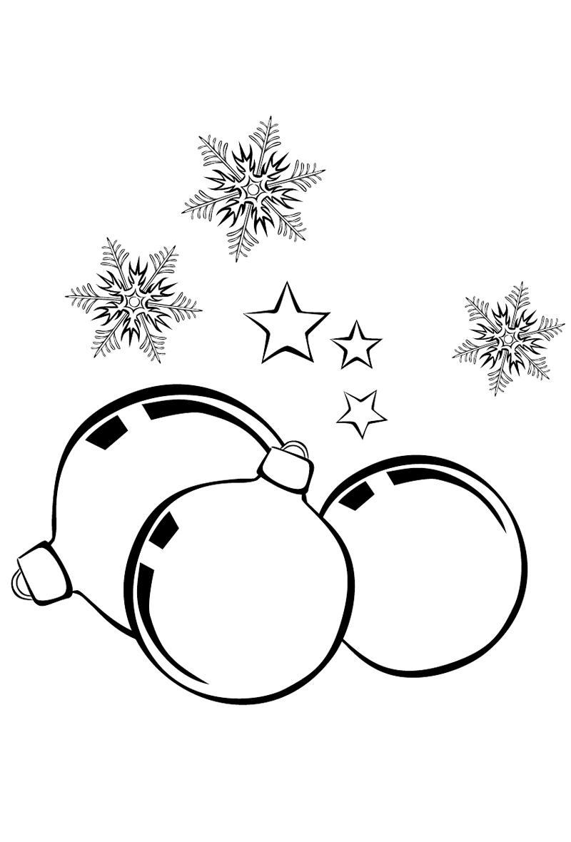 Новогодние картинки черно белые для печати, отпуске картинки