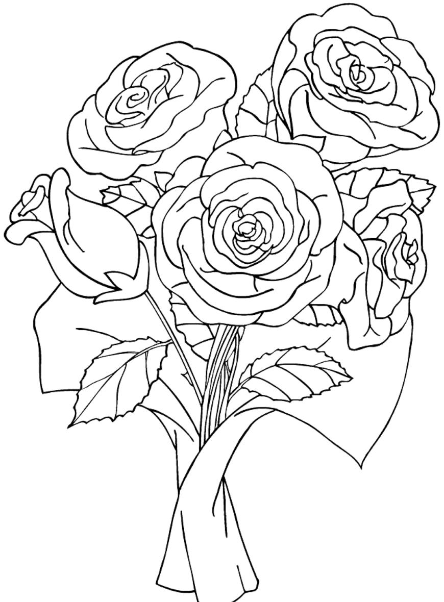 членов рисунки с букетами роз жене поддержку, меня