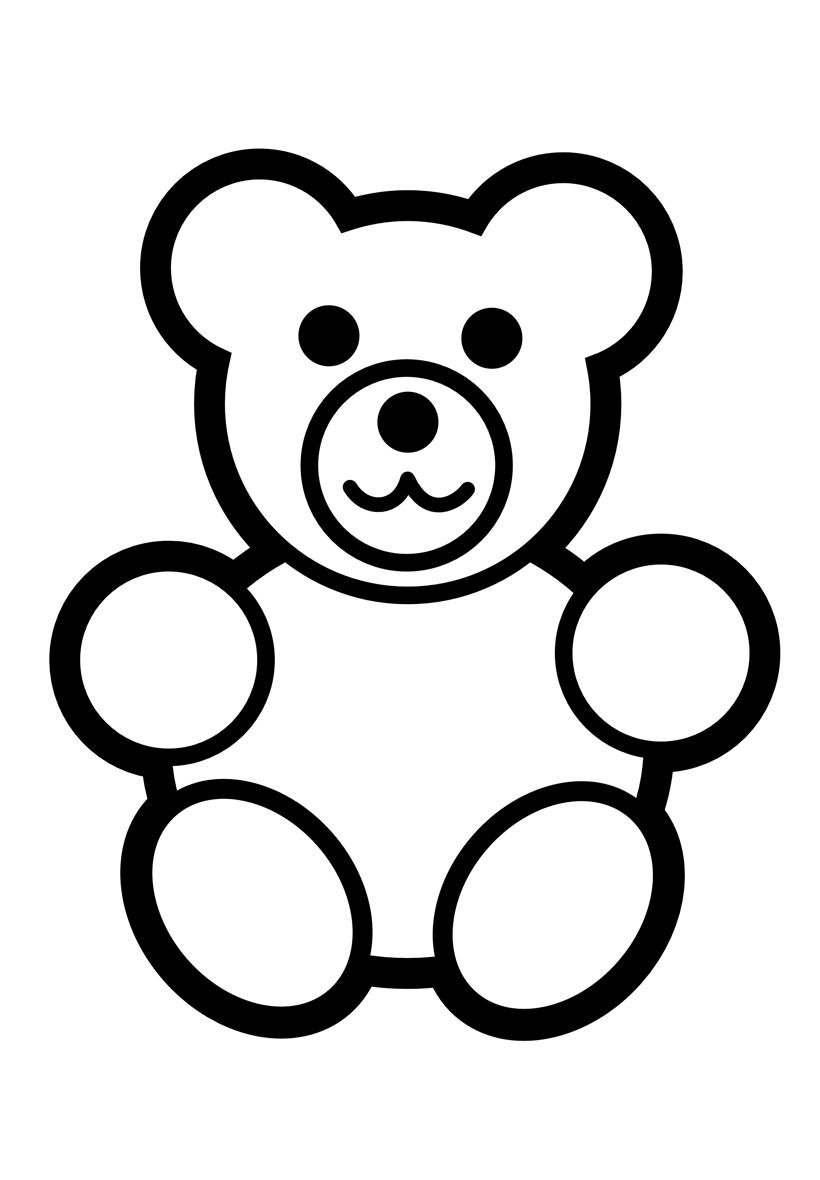 Картинка мишка для детей раскраска, чехия достопримечательности открытки